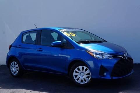 2015 Toyota Yaris for sale at Prado Auto Sales in Miami FL