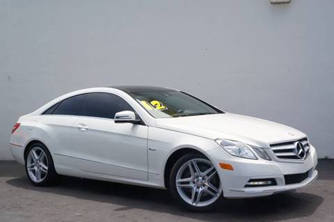 2012 Mercedes-Benz E-Class for sale at Prado Auto Sales in Miami FL
