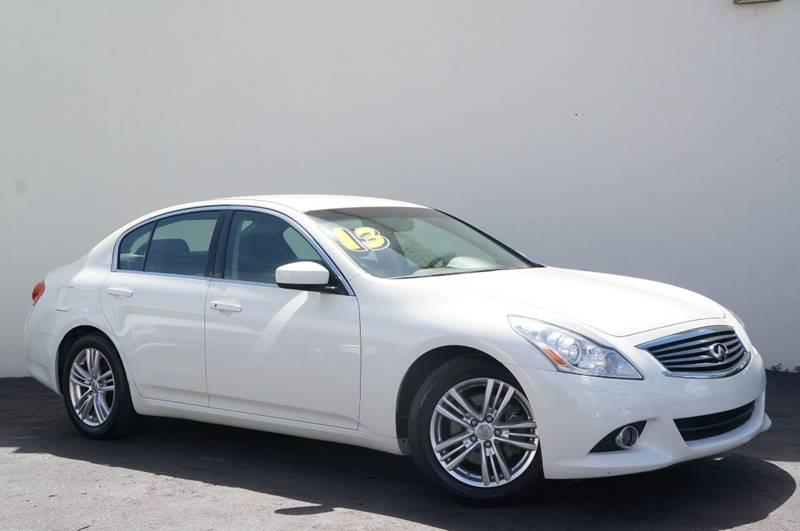 2013 INFINITI G37 SEDAN JOURNEY 4DR SEDAN moonlight white 1 ownerremaining factory warranty