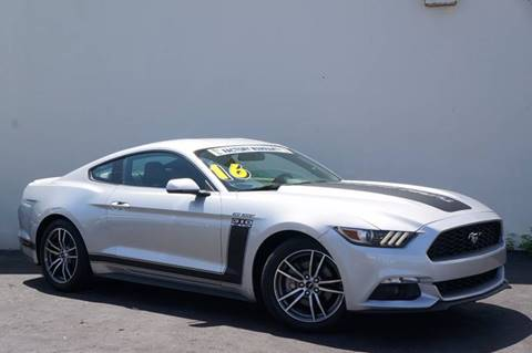 2016 Ford Mustang for sale at Prado Auto Sales in Miami FL