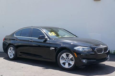 2012 BMW 5 Series for sale at Prado Auto Sales in Miami FL