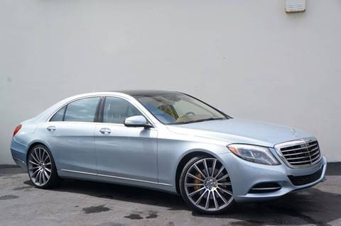 2014 Mercedes-Benz S-Class for sale in Miami, FL