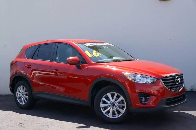 2016 MAZDA CX-5 TOURING soul red metallic priced below kbb fair purchase pricecarfax certi