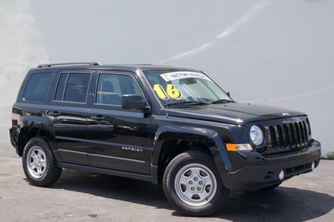 2016 Jeep Patriot for sale at Prado Auto Sales in Miami FL