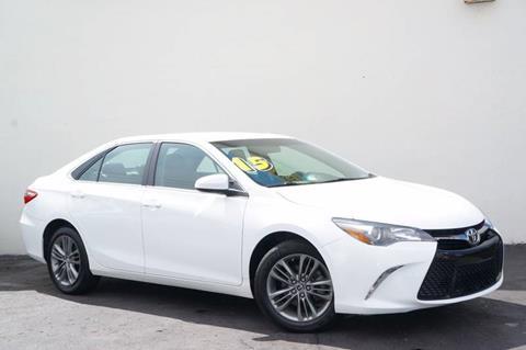 2015 Toyota Camry for sale at Prado Auto Sales in Miami FL