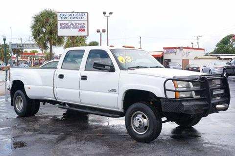 2003 Chevrolet Silverado 3500 for sale in Miami, FL
