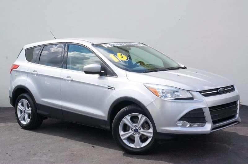 2016 FORD ESCAPE SE 4DR SUV ingot silver carfax certifiedno accidents1 ownerfuel effi