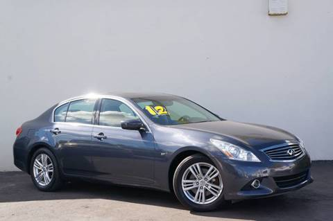 2012 Infiniti G37 Sedan for sale at Prado Auto Sales in Miami FL