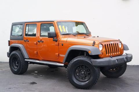 2011 Jeep Wrangler Unlimited for sale at Prado Auto Sales in Miami FL