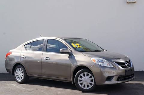 2012 Nissan Versa for sale at Prado Auto Sales in Miami FL