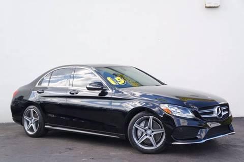 2015 Mercedes-Benz C-Class for sale at Prado Auto Sales in Miami FL
