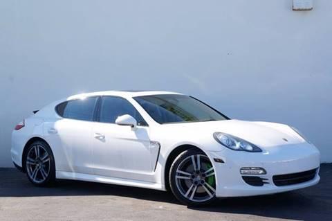 2012 Porsche Panamera for sale at Prado Auto Sales in Miami FL
