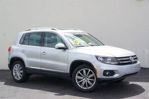 2013 Volkswagen Tiguan for sale at Prado Auto Sales in Miami FL