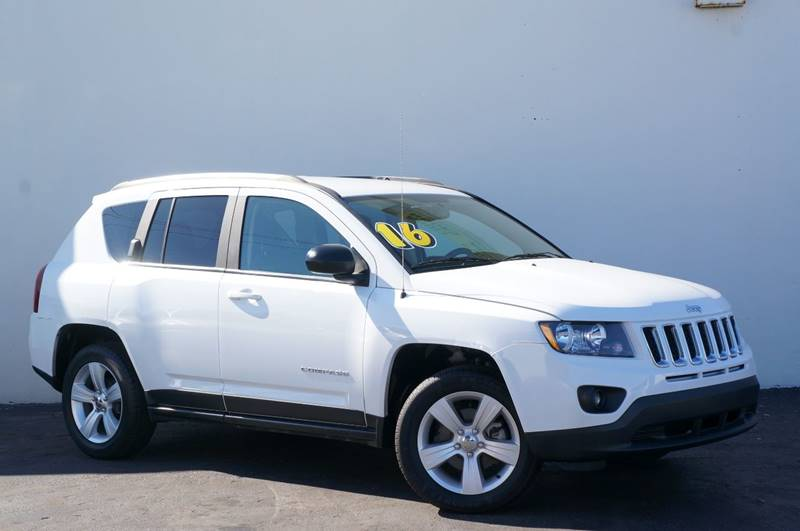 2016 JEEP COMPASS SPORT 4DR SUV bright white clearcoat carfax certifiedno accidents1 own
