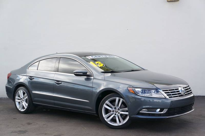 2013 VOLKSWAGEN CC LUX PZEV 4DR SEDAN island gray metallic priced below kbb fair purchase pric