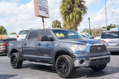 2008 Toyota Tundra for sale at Prado Auto Sales in Miami FL