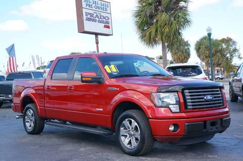 2011 Ford F-150 for sale at Prado Auto Sales in Miami FL