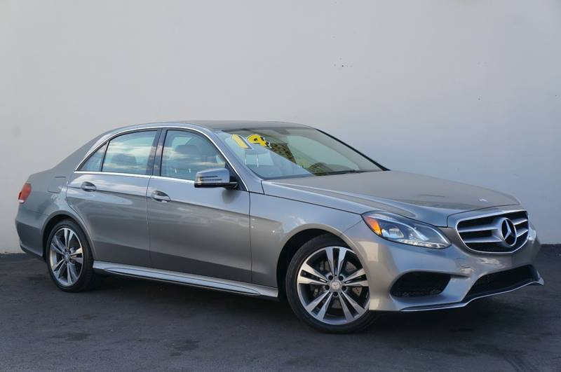 2014 MERCEDES-BENZ E-CLASS E 350 SPORT 4DR SEDAN iridium silver metallic recent arrivalnav