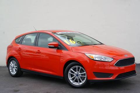 2016 Ford Focus for sale at Prado Auto Sales in Miami FL