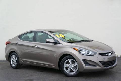 2015 Hyundai Elantra for sale at Prado Auto Sales in Miami FL