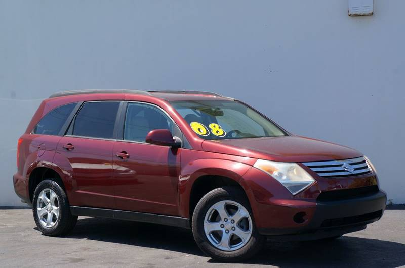 2008 SUZUKI XL7 BASE 4DR SUV unspecified recent arrival carfax one-owner clean carfax 5-speed