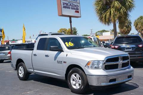 2016 RAM Ram Pickup 1500 for sale at Prado Auto Sales in Miami FL