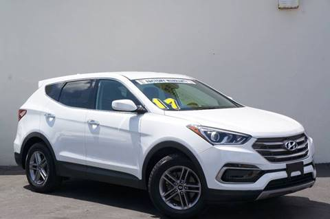 2017 Hyundai Santa Fe Sport for sale at Prado Auto Sales in Miami FL
