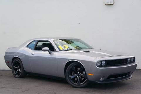 2013 Dodge Challenger for sale at Prado Auto Sales in Miami FL