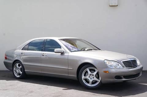 2004 Mercedes-Benz S-Class for sale at Prado Auto Sales in Miami FL