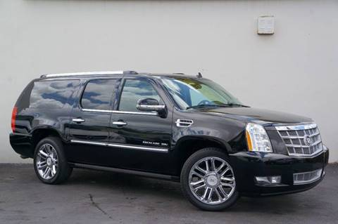 2012 Cadillac Escalade ESV for sale at Prado Auto Sales in Miami FL