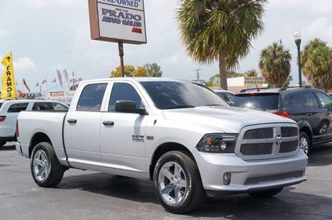 2013 RAM Ram Pickup 1500 for sale at Prado Auto Sales in Miami FL