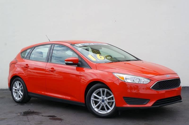 2016 Ford Focus for sale at Prado Auto Sales in Miami FL