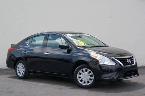 2016 Nissan Versa for sale at Prado Auto Sales in Miami FL