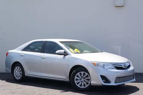 2014 Toyota Camry for sale at Prado Auto Sales in Miami FL