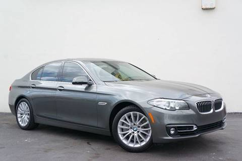 2015 BMW 5 Series for sale at Prado Auto Sales in Miami FL
