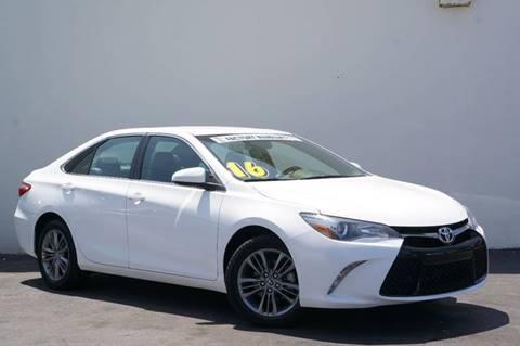 2016 Toyota Camry for sale at Prado Auto Sales in Miami FL