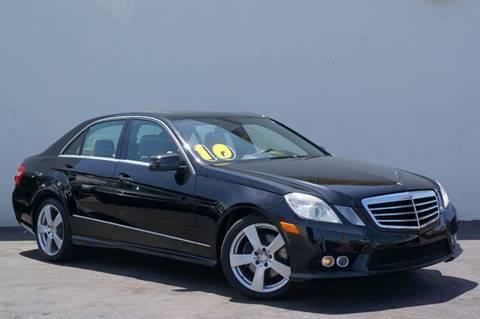 2010 Mercedes-Benz E-Class for sale at Prado Auto Sales in Miami FL