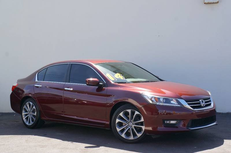 2014 Honda Accord Sport 4dr Sedan CVT   Miami FL