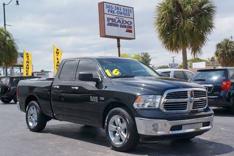 2016 RAM Ram Pickup 1500 for sale at Prado Auto Sales in Miami FL