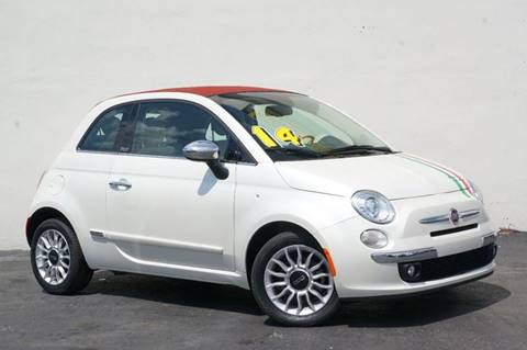 2014 FIAT 500c for sale at Prado Auto Sales in Miami FL
