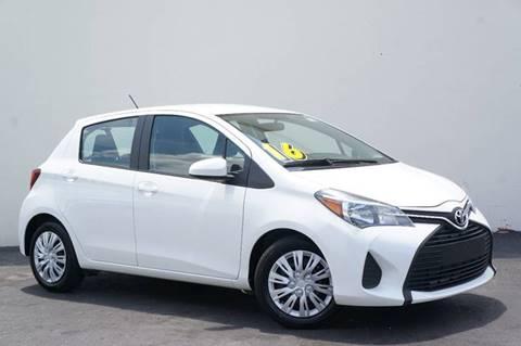 2016 Toyota Yaris for sale at Prado Auto Sales in Miami FL
