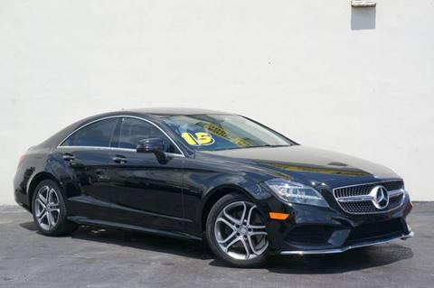 2015 Mercedes-Benz CLS for sale at Prado Auto Sales in Miami FL