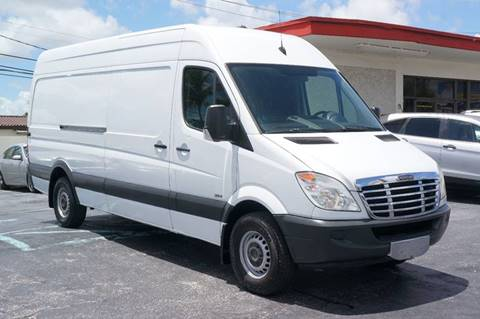 2010 Freightliner Sprinter 2500 for sale at Prado Auto Sales in Miami FL