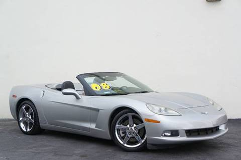 2008 Chevrolet Corvette for sale at Prado Auto Sales in Miami FL