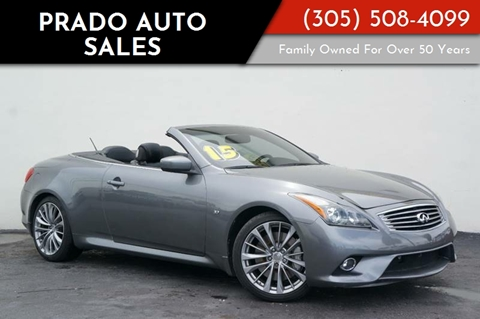 2015 Infiniti Q60 Convertible For Sale In Cedar Rapids Ia