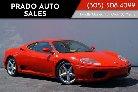 2003 Ferrari 360 Modena For Sale In Miami, FL