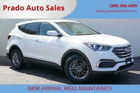 2018 Hyundai Santa Fe Sport for sale in Miami, FL