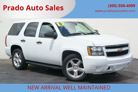 2012 Chevrolet Tahoe for sale in Miami, FL