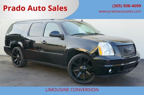 2011 GMC Yukon XL for sale in Miami, FL