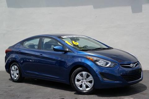 2016 Hyundai Elantra for sale at Prado Auto Sales in Miami FL